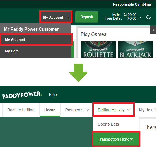 How do i view my bets on paddy power easy odds horse racing betting systems